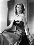 Barbara Bel-Geddes on a Silk Tube Dress sitting Photo by  Movie Star News