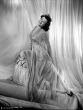 Barbara Hale on a See Through Dress sitting on a Chair Photo by  Movie Star News