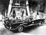 Batman Batmobile Portrait Foto von  Movie Star News