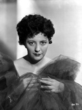 Helen Morgan on a Lace Shawl Portrait Photo by  Movie Star News