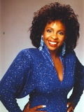 Gladys Knight in Sparkling Blue Dress Photo by  Movie Star News
