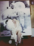 Carroll Baker Posed in White Photo by  Movie Star News