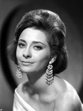 Elizabeth Ashley Portrait in Classic with Earrings Photo by  Movie Star News