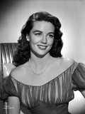 Dorothy Malone on Off Shoulder Dress and smiling Photo by  Movie Star News