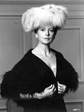 Deborah Kerr on a Furry Hat and posed Photo by  Movie Star News