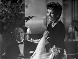 Helen Morgan Story Woman laughing in Black and White Photo by  Movie Star News