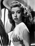 Gloria DeHaven in Black Gown Side View Posed Foto av  Movie Star News