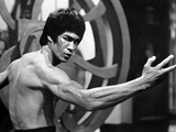 Bruce Lee Flexing Photo by  Movie Star News