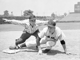 Damn Yankees Baseball Scene in Black and White Photo by  Movie Star News