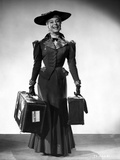 Carol Channing smiling in a Long Dress with Apache Cases Photo by  Movie Star News