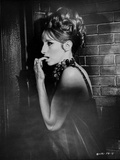 Barbra Streisand Nailbiting Posed Portrait Photo by  Movie Star News