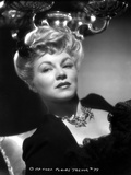 Claire Trevor Lying in Black Dress with Necklace Photo by  Movie Star News