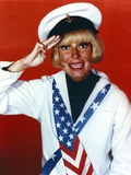 Carol Channing Hand Salute in Sailor Uniform Photo by  Movie Star News