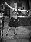 Carol Channing wearing a Corset and Dancing Photo by  Movie Star News