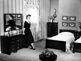 Dorothy Malone on a Dress in a Bedroom sitting and posed Photo by  Movie Star News