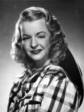 Dale Evans on a Checkered Top and Winking Eye Portrait Photo by  Movie Star News