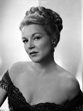 Claire Trevor Posed in Black Dress with Earrings Photo by  Movie Star News