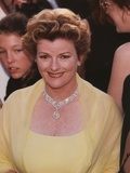 Brenda Blethyn smiling in Yellow Dress Photo by  Movie Star News