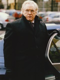 Brian Cox Posed in Black Coat Photo by  Movie Star News