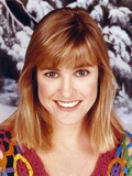 Cynthia Nixon Close Up Portrait in Snow wearing Colorful Sweater Photo by  Movie Star News