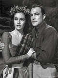 Brigadoon Lady in Long Sleeve Dress with Man in Long Sleeve Polo Photo by  Movie Star News