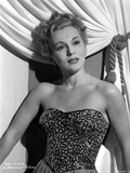 Eva Gabor on Embroidered Top Portrait Photo by  Movie Star News