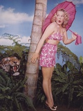 Betty Hutton Posed Pink Dress Photo by  Movie Star News