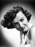 Donna Reed Portrait in Black and White Photo by  Movie Star News