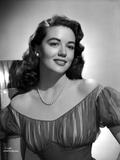Dorothy Malone on a Lace Dress posed and smiling Photo by  Movie Star News