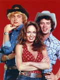 Dukes Of Hazzard Group Posed in Red Background Photo by  Movie Star News