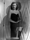 Barbara Hale on a Tube standing Portrait Photo by  Movie Star News