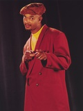 Damon Wayans Portrait in Red Coat Photo by  Movie Star News