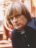 David McCallum Close Up Portrait in Blue sleeves Photo by  Movie Star News