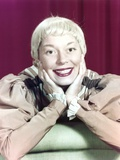 Carol Channing Posed in Red Background Photo by  Movie Star News