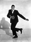 Chubby Checker Dancing in Black Suit with Black Shoes Photo by  Movie Star News