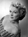 Claire Trevor Posed in Elegant Dress with Necklace Photo by  Movie Star News