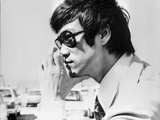 Bruce Lee Posed in Suit and Tie with Sun Glasses Photo by  Movie Star News