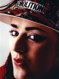 Boy George Woman's with Pouty Lips wearing Sun Visor Cap Close Up Portrait Photo by  Movie Star News