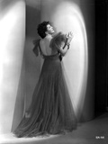 Helen Morgan wearing a Backless Gown Photo by  Movie Star News