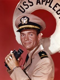 Dean Jones Portrait in Army Uniform with a Binocular Photo by  Movie Star News