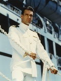 David James Elliott standing in Navy uniform Photo by  Movie Star News