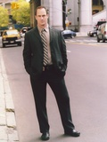 Christopher Meloni standing in Coat Portrait Photo by  Movie Star News