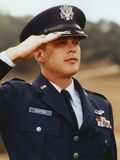 Cary Elwes in Army Uniform and Saluting Photo by  Movie Star News
