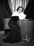 Ethel Merman Seated in Classic Photo by  Movie Star News