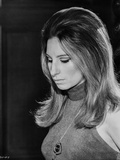 Barbra Streisand Portrait Looking Down With Necklace Photo by  Movie Star News