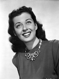 Gail Russell smiling in Dress with White Background Photo by  Movie Star News