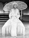 Carol Channing wearing an Embroidered Long Dress with Big Hat Photo by  Movie Star News