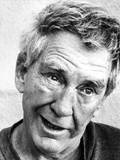 Burgess Meredith Close Up Classic Portrait Photo by  Movie Star News