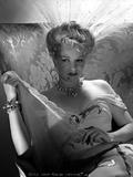 Claire Trevor sitting in White Dress Portrait Photo by  Movie Star News