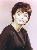 Barbara Steele Close-up Portrait in Black Blouse Photo by  Movie Star News